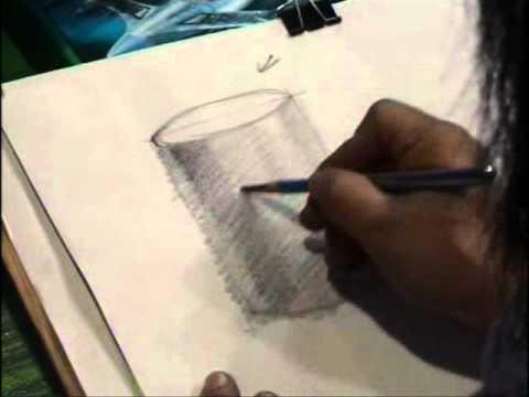 drawing teaching สอนวาดเส้น หุ่นนิ่ง 1 2-6