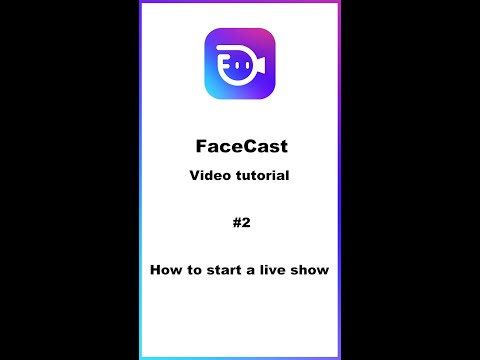 FaceCast Live Streaming Video Tutorial. How To Start A Live Broadcast In FaceCast App.[Tutorial #2]