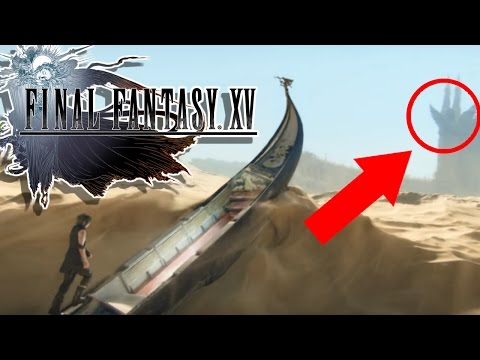 Final Fantasy XV - Omen Theory / Trailer Breakdown
