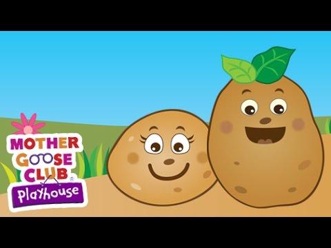 One Potato, Two Potato | Mother Goose Club Playhouse Kids Song