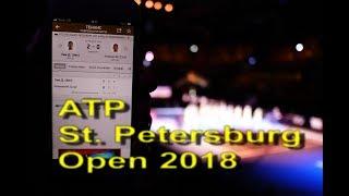 Финал теннисного турнира ATP St. Petersburg Open 2018