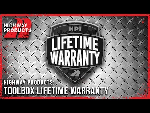 Highway Products | Truck Tool Box Lifetime Warranty