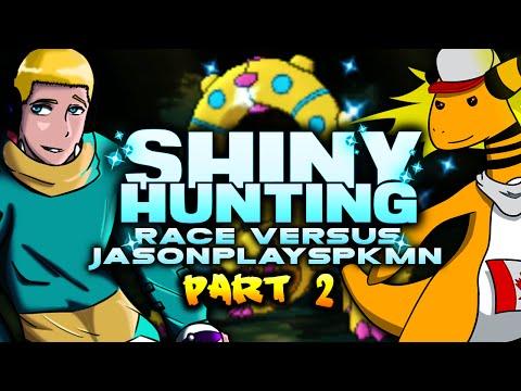 """SHINY HUNTING RACE VS JASONPLAYSPKMN!"" - PART 2 - Pokemon Omega Ruby Alpha Sapphire Livestream"