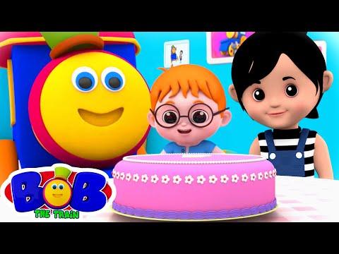 pat-a-cake-song-|-nursery-rhymes-&-children-songs-|-baby-cartoon-|-bob-the-train-|-kids-tv