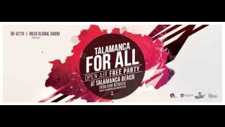 Miss Kittin b2b Oxia live @ Talamanca For All (Talamanca Beach, Ibiza) – 11.09.2015