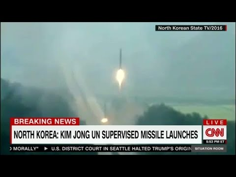 Thumbnail: N.Korea's latest missile test: four at a time