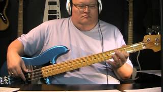 U2 - Angel Of Harlem - Bass Cover - with Notes & Tablature
