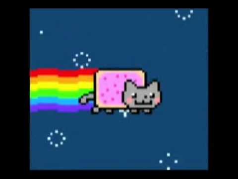 Chat Qui Pete Des Arc En Ciel Nyan Cat