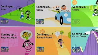 PBS Kids Schedule Bumper Compilation (2004-2010 WFWA) thumbnail