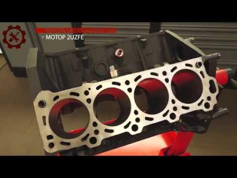 Сборка мотора 2UZFE от Toyota Land Cruiser 100 часть 2 финал