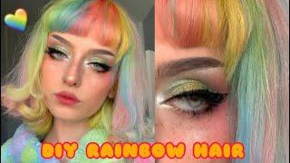 DYING MY HAIR RAINBOW! (Again lol)