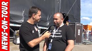 Ikke Arschloch Urensohn Hüftgold Interview  Backstage Oberhausen Ole 2017