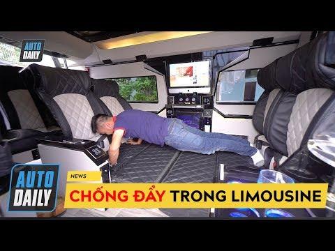 CHỐNG ĐẨY trong Lux iCar: Limousine với hàng tá công nghệ do người Việt sản xuất