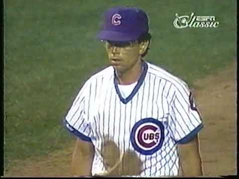 Cubs-Mets, Aug. 9, 1988 (innings 8-9)