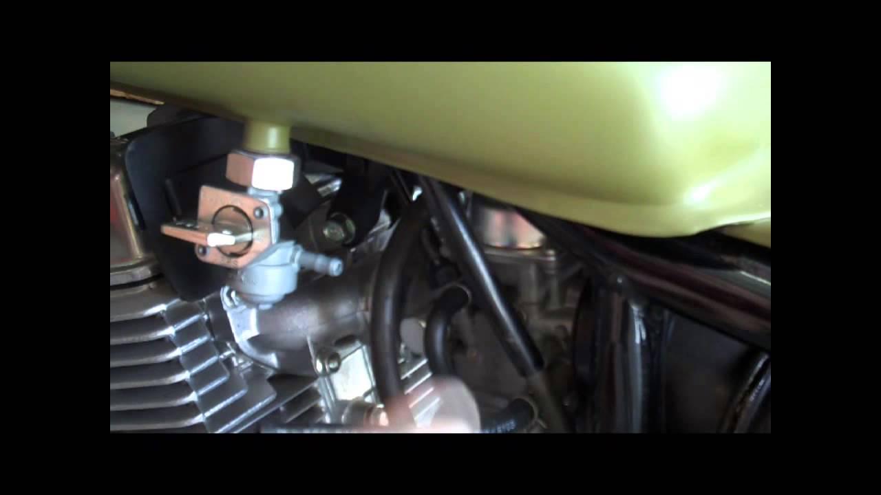 Honda Rebel 250/125 Remove Gas Tank - YouTube