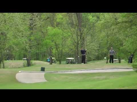 Scott's Second Round at the ORU Shootout at Forest Ridge GC, 4-14-2015
