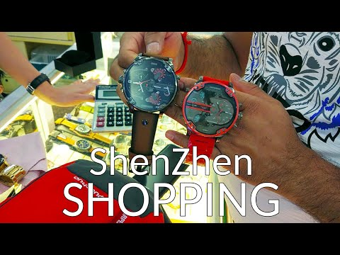 An Ordinary Shopping Day At ShenZhen