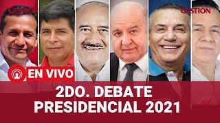 2do Debate Presidencial JNE 2021: De Soto, Urresti, Humala, Castillo y más exponen sus propuestas