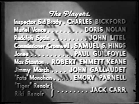 ONE HOUR TO LIVE 1939 60 Minutes John Litel Charles Bickford MYSTERY