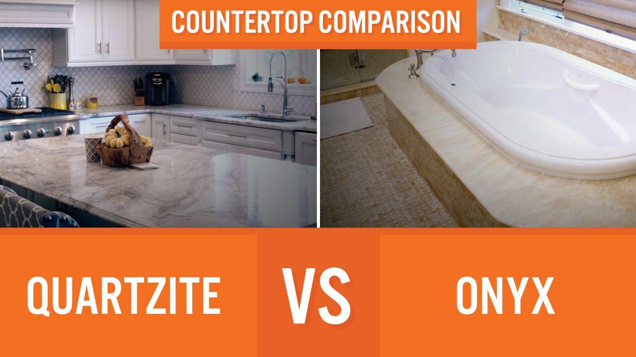 Quartzite Vs Onyx | Countertop Comparison