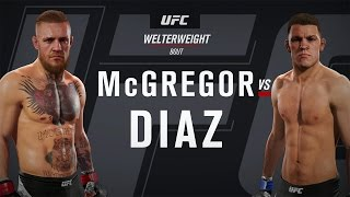 EA SPORTS UFC 2 Gameplay - Conor McGregor vs Nate Diaz