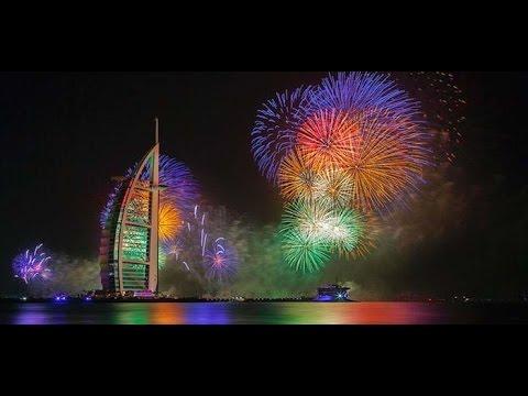 Capodanno 2016 Dubai festeggia con 24 minuti di fuochi d