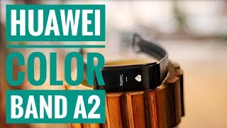 Huawei Color Band A2 Review in Bangla | SmartBand | Tech In 100 Seconds