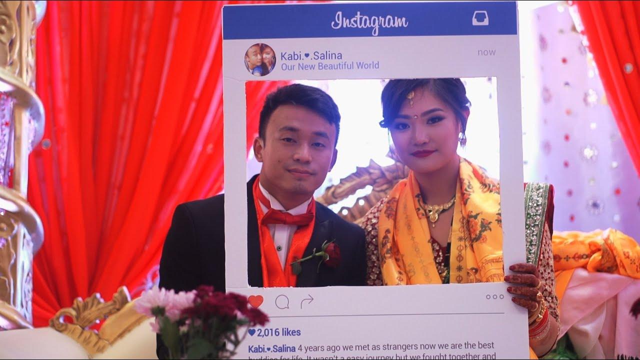 Kabi Weds Salina (Nepali Wedding Highlights, UK) Janma Rai (Yo Saas)