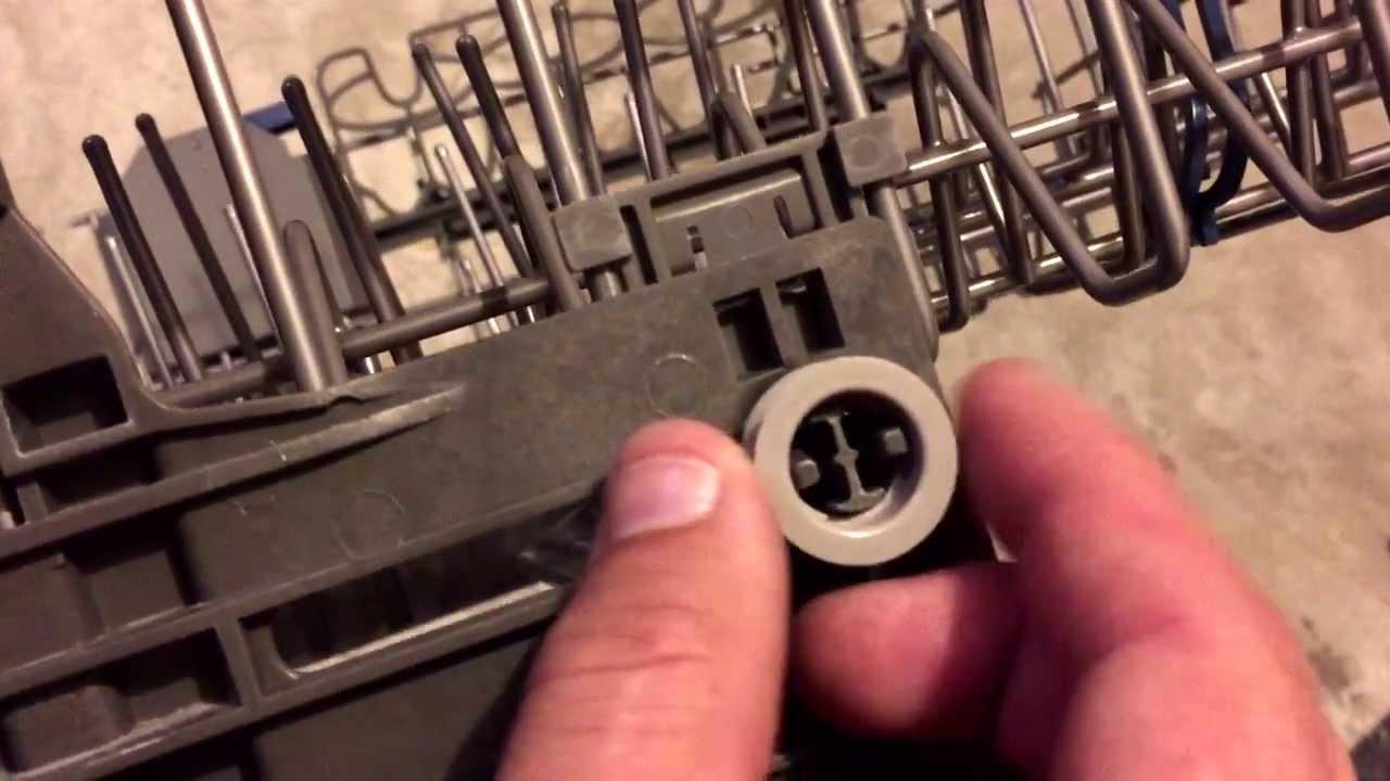 Diy Kitchenaid Dishwasher Top Rack Wheel Fix