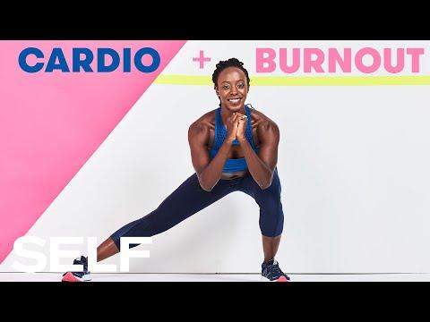 30-Minute Advanced Cardio Workout, Plus Burnout Finisher | SELF