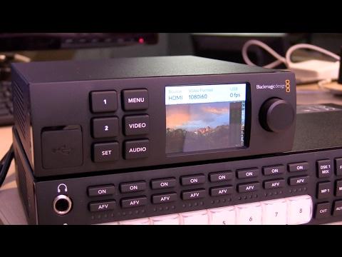 數位黑膠兔【 Blackmagic Web Presenter 網路直播機 】 SDI HDMI 相機 輸入 視訊 串流