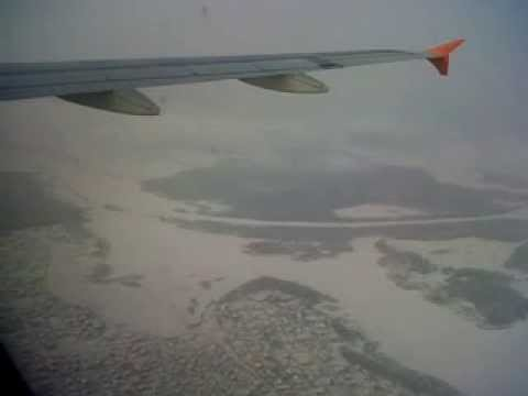 RARE Landing in Moscow Sheremetyevo International Airport (SVO) heavy snow Aeroflot 320