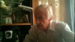 Видео 1. 2 мировая - начало, рассказ участника войны.