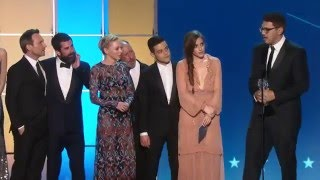 Mr Robot winning Best Drama Series at Critics