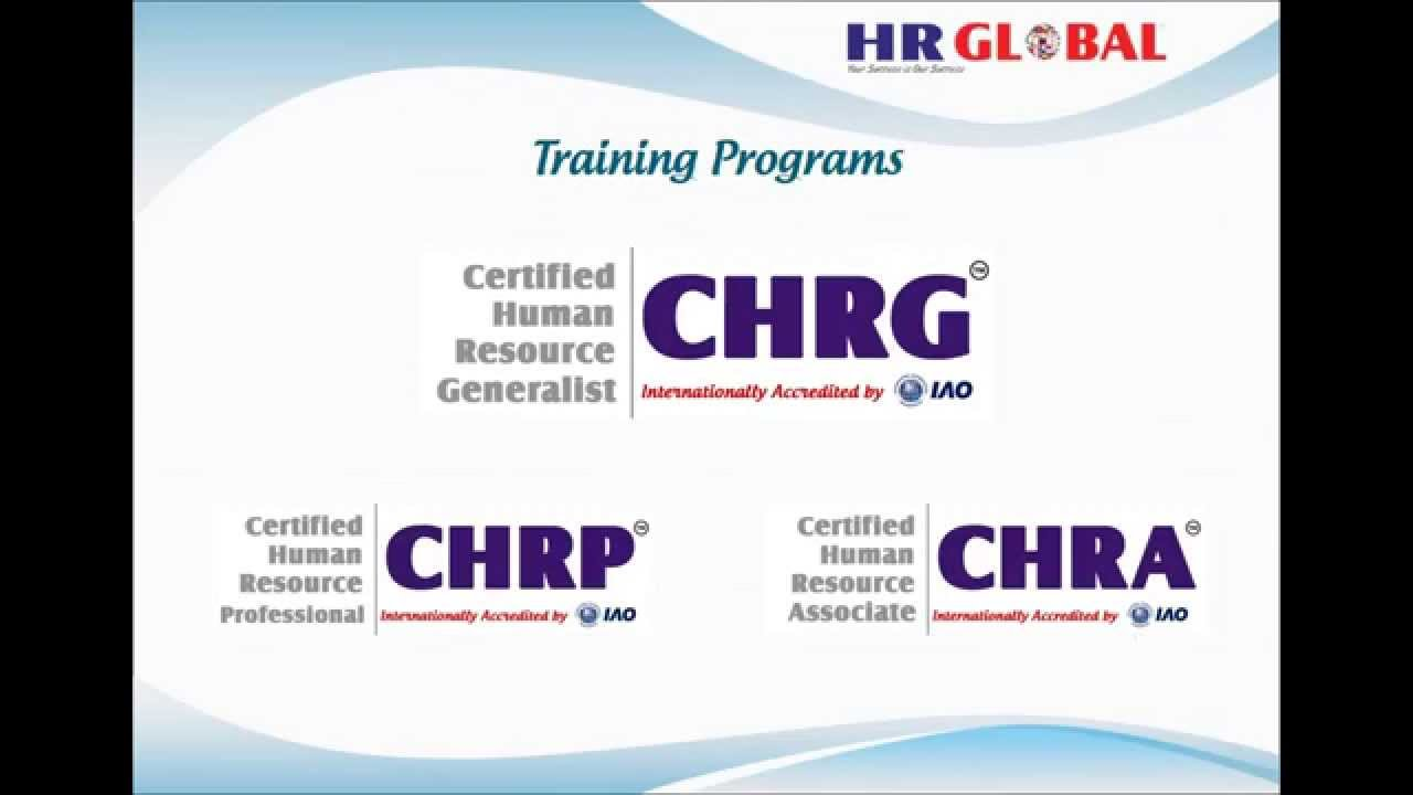Hr Training Hr Certification Hr Global Youtube