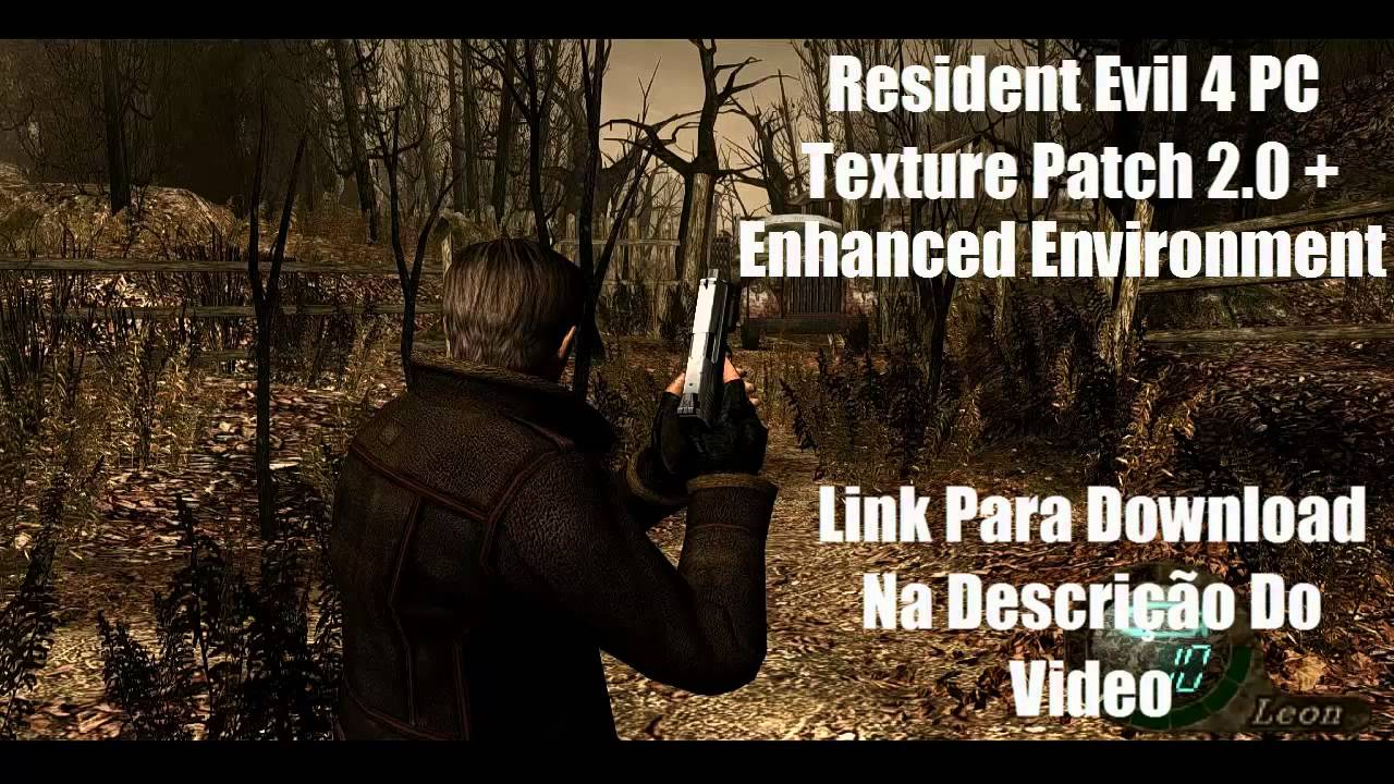 Resident Evil 4 Texture Patch 2.0 + Enhanced Environment