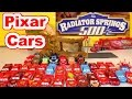 Disney Pixar Cars Lightning McQueen In The Radiator Springs 500 Off Road Racing Challenge