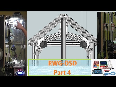 RWG-OSD #4  This Is Why I Think I Can Make This Work. AND IT WILL! OverSized Delta 3D Printer Build.