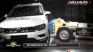 Volkswagen Tiguan  - 2016 - Euro NCAP Crash Test