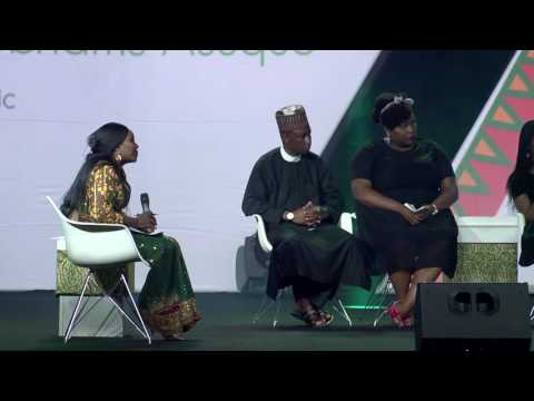 President Buhari on a Panel discussion with select Creative Youths - The CONVERSATION 2016