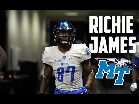 The Most Talented WR You've Never Heard Of /Richie James/ MTSU Highlights ᴴᴰ (REQUESTED VIDEO)