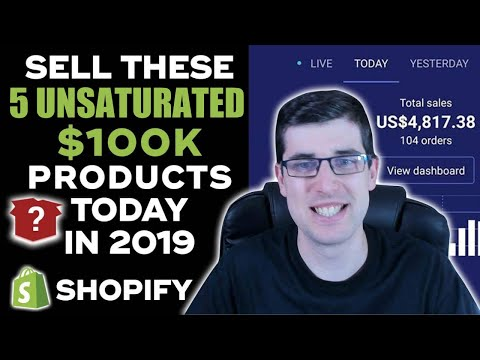 [REVEALED] Sell These 5 UNSATURATED $100,000 WINNING Products TODAY | Shopify Dropshipping 2019 thumbnail