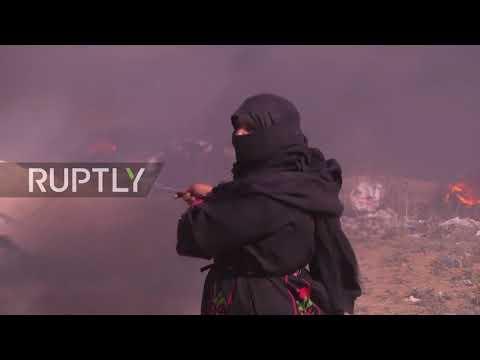 State of Palestine: Israeli drones rain down tear gas in Gaza
