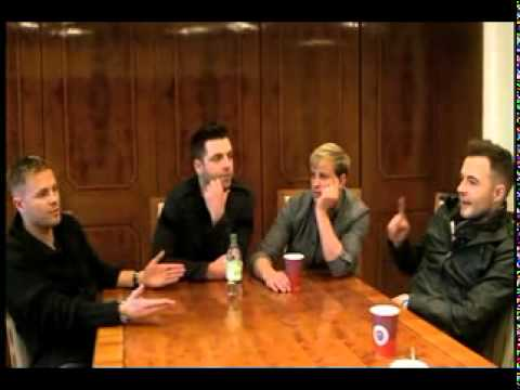 Westlife Talk to Playlist about Gravity Safe and Beautiful Tonight