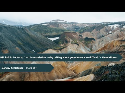 GSL Public Lecture: Lost in translation - why talking about