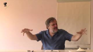 Slavoj Zizek. Lacan's four discourses and the real. 2014