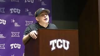 TCU HC Gary Patterson talks Oklahoma loss