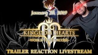 KINGDOM HEARTS 3 Release Date LIVE REACTION??! -World Tour Encore Concert Possible Trailer-
