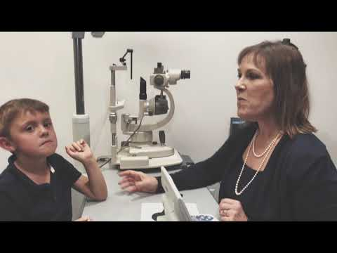 Seven-Year-Old AJ Gets His Back-to-School Eye Exam