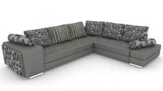 3D моделирование дивана